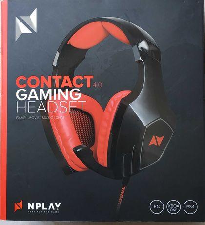 Auscultadores Gaming NPlay contact 4.0