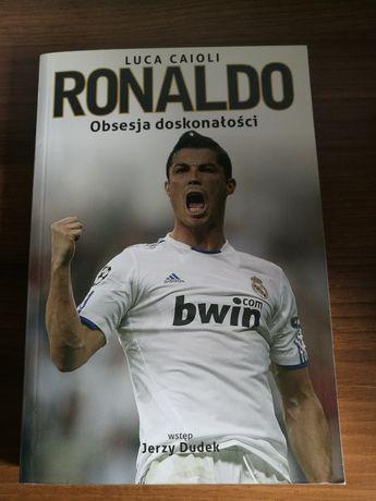 Książka Ronaldo Obsesja doskonałości Luca Caioli