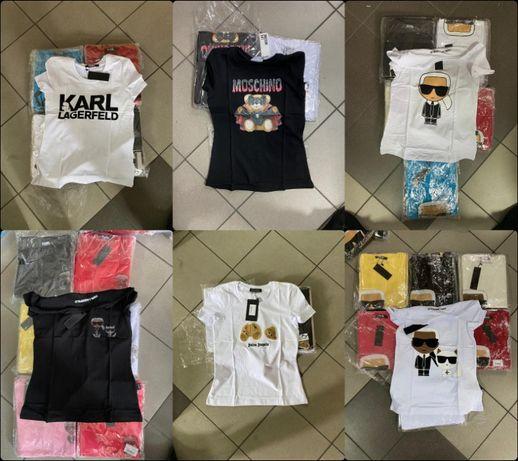 Koszulka Shirt koszulki Moschino damskie Karl Premium