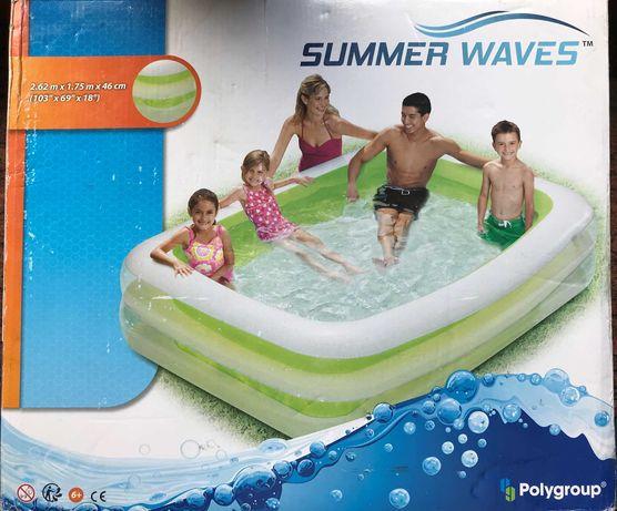 Basen dmuchany Summer waves 262 cm x 175 cm x 46 cm