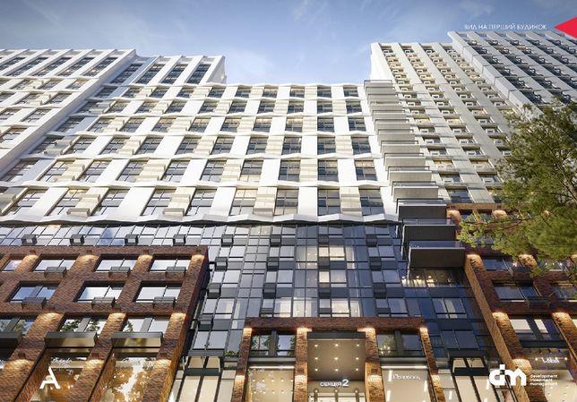 2-я квартира в ЖК Новый Автограф 85,55м2 на ПАРК