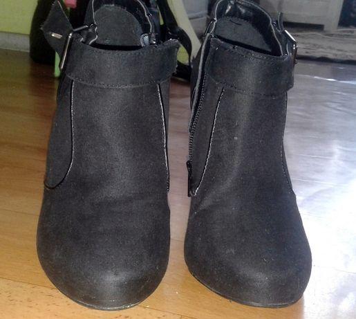 Туфли, замш, размер 39
