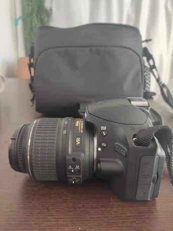 Aparat Nikon D3200, 2 obiektywy, akcesoria