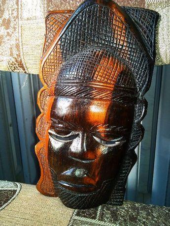 Продам Маска Мужская Африка,дерево,ручная работа