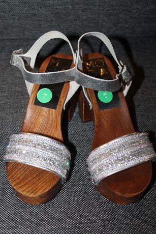 Sandałki damskie Moda in Pelle