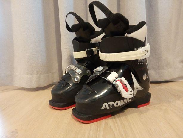 Buty narciarskie Atomic Junior rozmiar 19 cm.