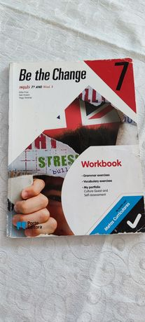 Workbook Be the Change 7, Inglês 7 ano