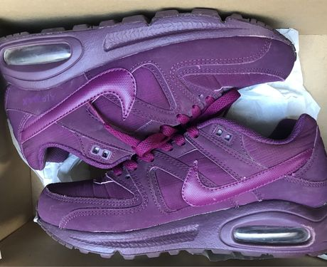 Nike Air Max bordowe/fioletowe r. 38