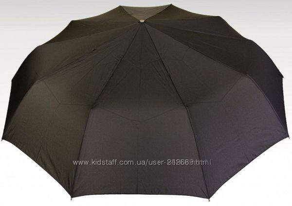 Мужской зонт премиум класса D 134 см(крюк, прям ручка), пр-во Польша
