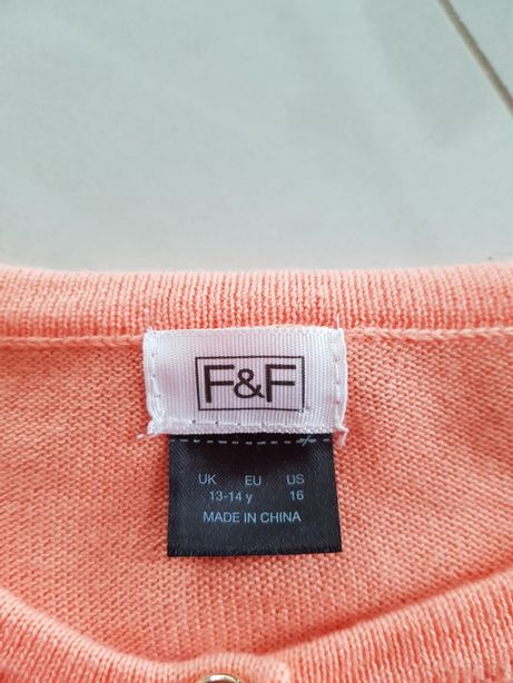 Sweter swetr F&F 13-14 lat XS