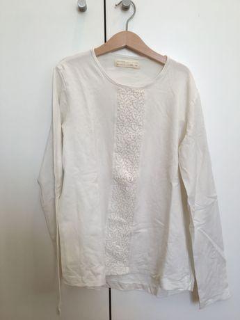 Camisola Branca com detalhes