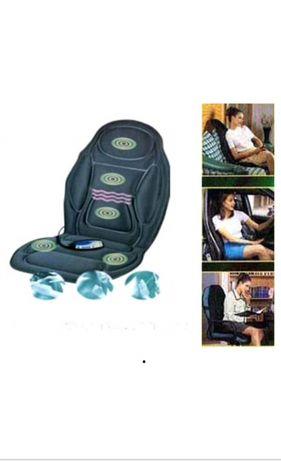 Массажное кресло-накидка сиденье Wellcare massage mat with heat WE568h