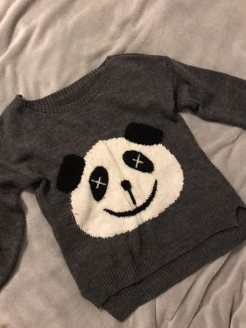 Sweterek z panda