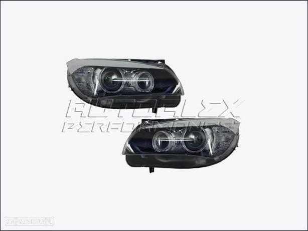 Faróis Angel Eyes BMW X1 E84