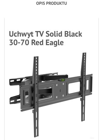 UCHWYT TV solid black 8K 30-70