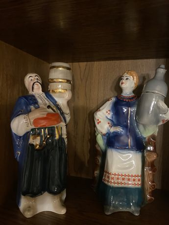 figurka, karafka na alkohol