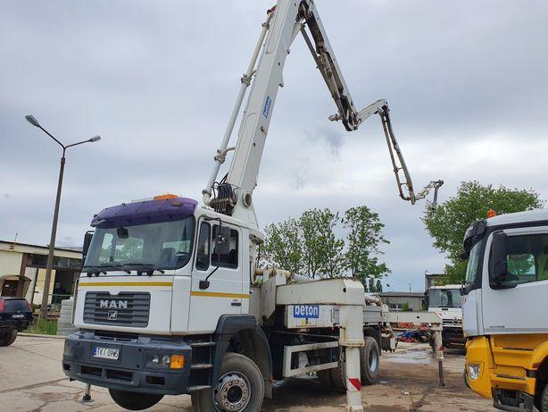 MAN Cifa 31-5 pompa do betonu halowka 150m3/h TDT Dozór