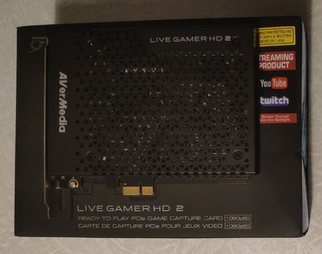 Карта видеозахвата AVerMedia Live Gamer HD 2