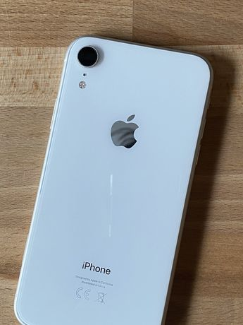 IPhone XR 256G white stan idealny