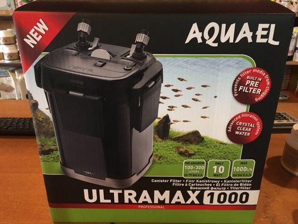 Aquael Filtr Zewnętrzny ULTRAMAX 1000 - Małe ZOO Płaskowickiej