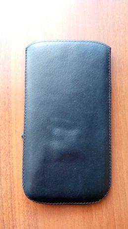 Чехол для смартфона, кожаный