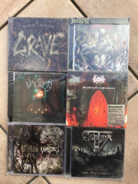 Asphyx, Bloodbath, Incantation, Vomitory, Grave, Vacivus