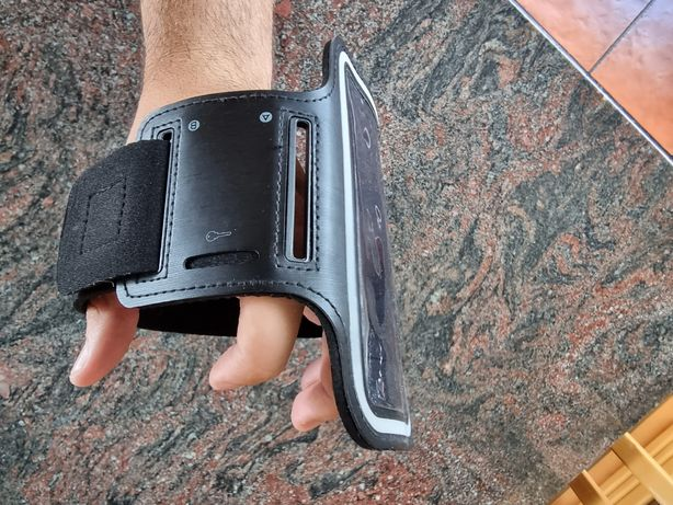 Suporte de braço - telemóvel, carteira, chaves