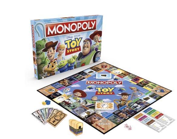 Nowe Monopoly, gra strategiczna Monopoly Toy Story