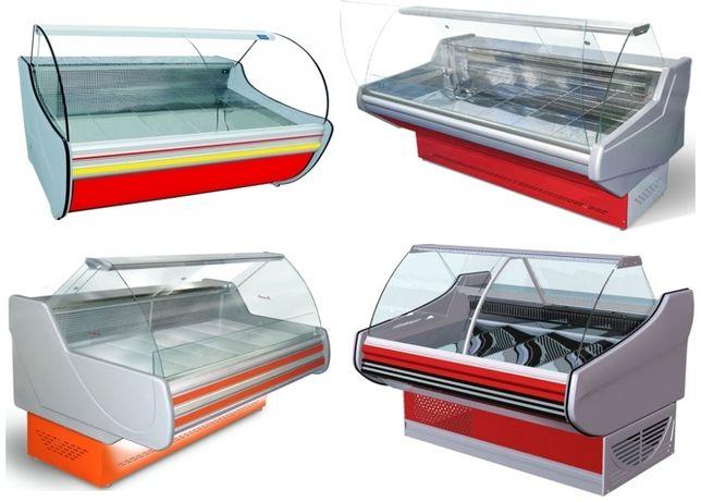 Оргстекло на холодильные витрины, шторки на холодильник
