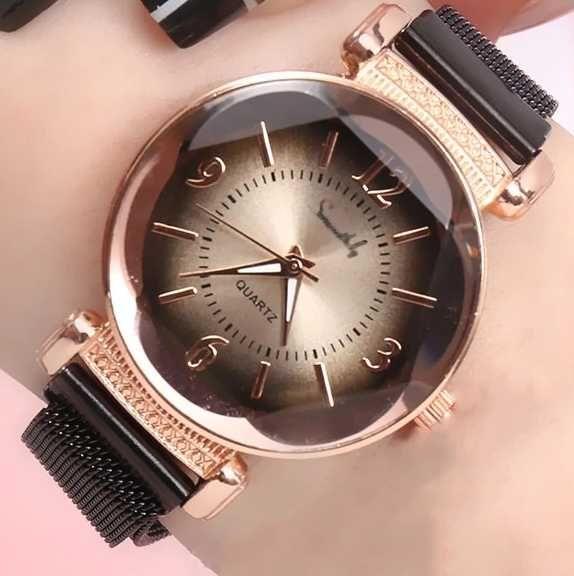 Luksusowy zegarek damski gradientowy Dial Milan