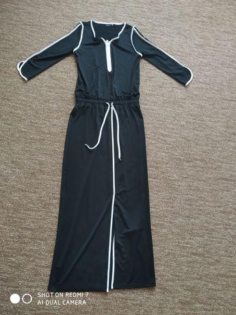 Повседневное платье в пол (длинное, макси)