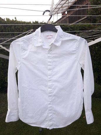 Koszula biała długi rękaw 152 elegancka 5.10.15