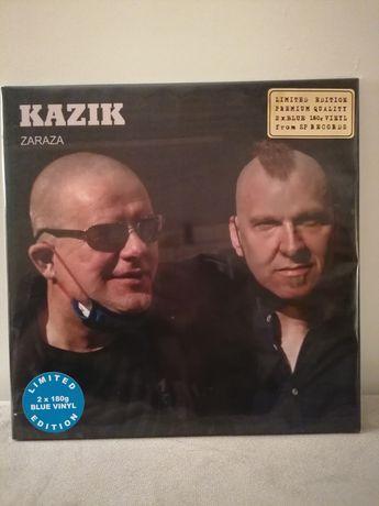 Kazik Zaraza Limited Blue Vinyl Edition NOWY 2LP
