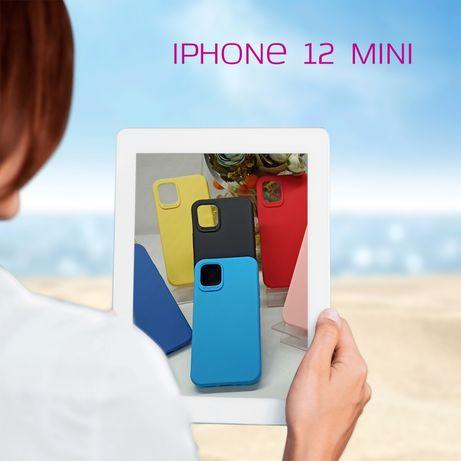 Capa Silky Soft touch iPhone 12 Mini -Div. Cores-Nova-24h