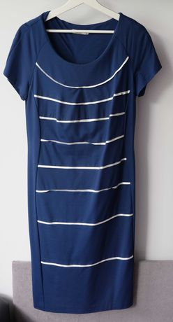 Sukienka granatowa RUPPE (rozm. 46)