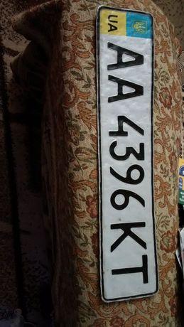 Найден автомобильный номерной знак АА4396КТ
