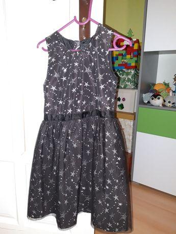 Sukienka dla dziewczynki,święta rozmiar 134