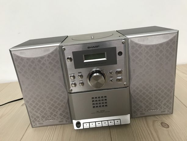 Micro wieża SHARP XL-S10 ... radio + CD + tape