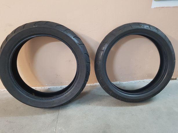 Opony motocyklowe Dunlop 120/70 ZR /17 oraz 160/60 ZR /17