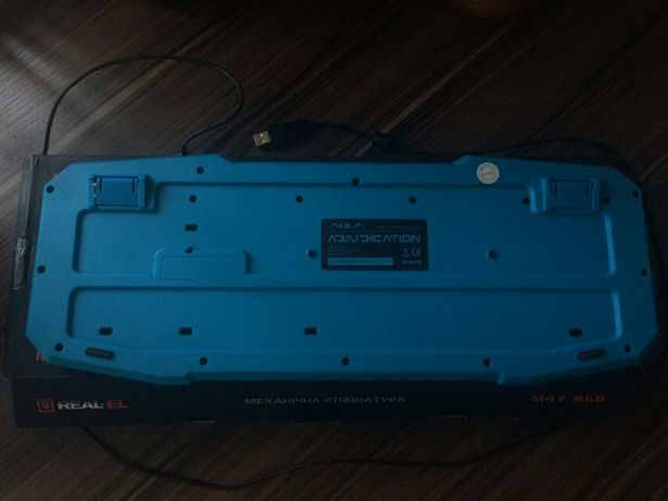 Мембранная клавиатура с USB выходом