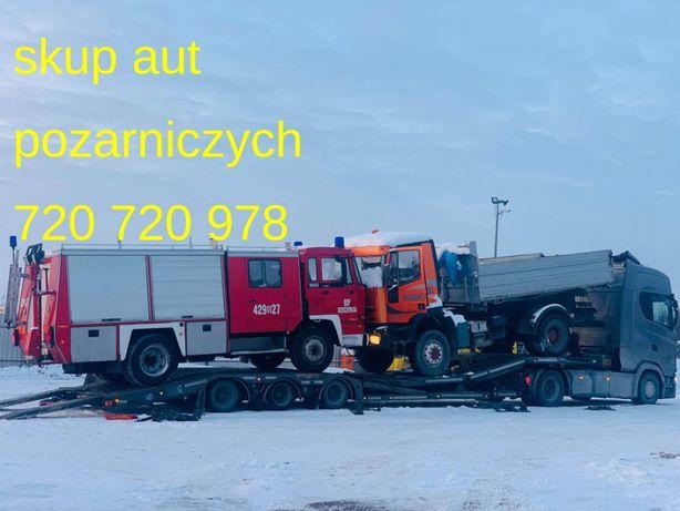 Skup samochody pożarnicze Daf, Renault, Steyr, Straż , Deutz, Mercedes