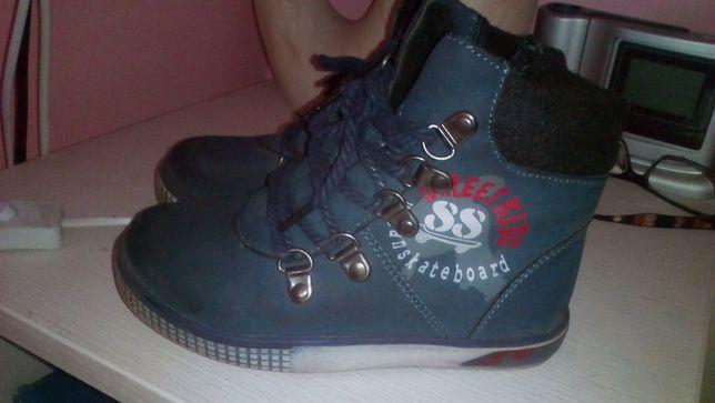 зимовые теплые ботиночки 28 размер 18 см
