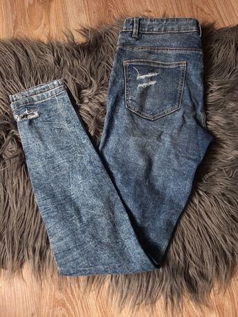 Jeansy z rozdarciami Cropp (jak nowe)rozmiar. S