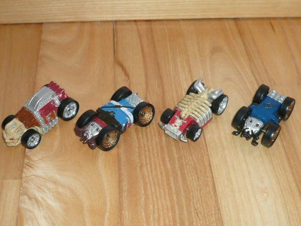 Samochodziki resoraki Piraci z Karaibów Disney Racing. Jak Nowe!
