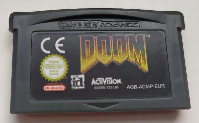 DOOM gra GAME BOY Advance/Nintendo DS NIEORG