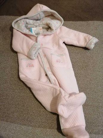 Nowy otulacz dla dziewczynki Różowy