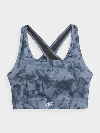 4F Nowy Biustonosz XS yoga top stanik sportowy trening legginsy bluza