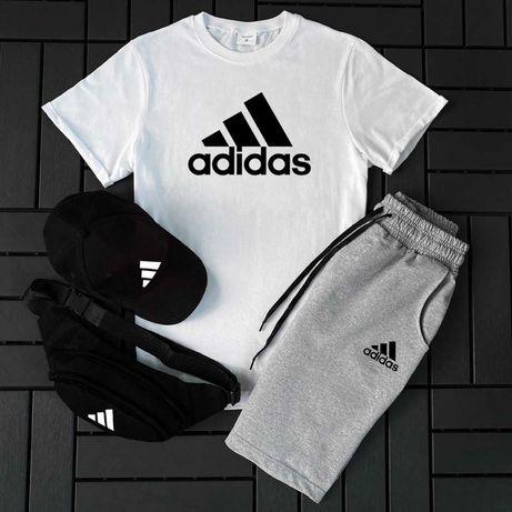Костюм Adidas Шорты+Футболка+Кепка