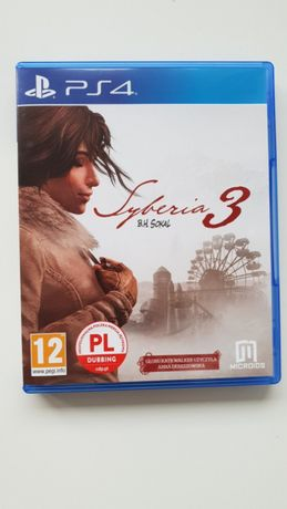 Syberia 3 PL Playstation 4