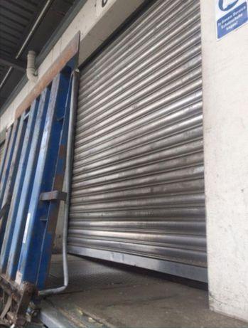 Brama garażowa,aluminiowa roleta przemysłowa z napędem el. 2.5m x 2.5m
